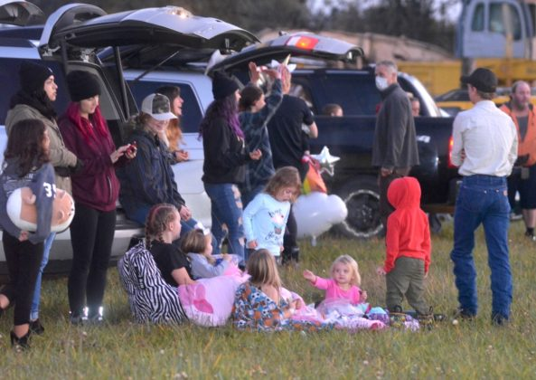 Trunk or Treat 2020 at the rodeo grounds