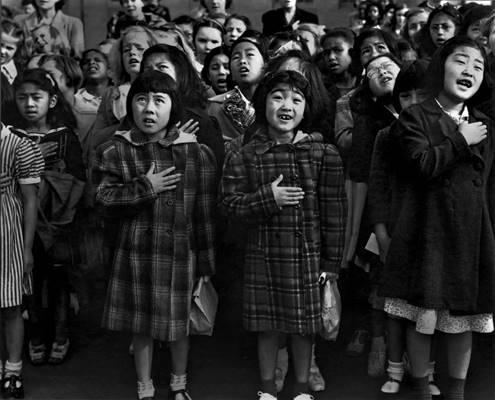 Japanese American children