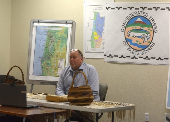 The Confederated Tribes of Siletz Indians