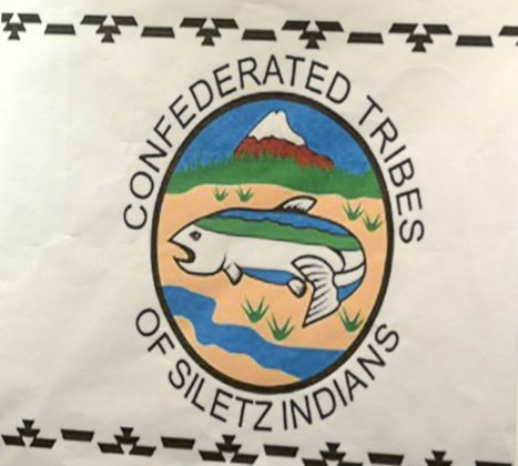 The Confederated Tribes of Siletz Indians logo