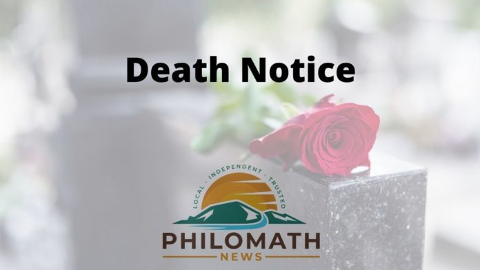 Philomath News Death Notice Logo