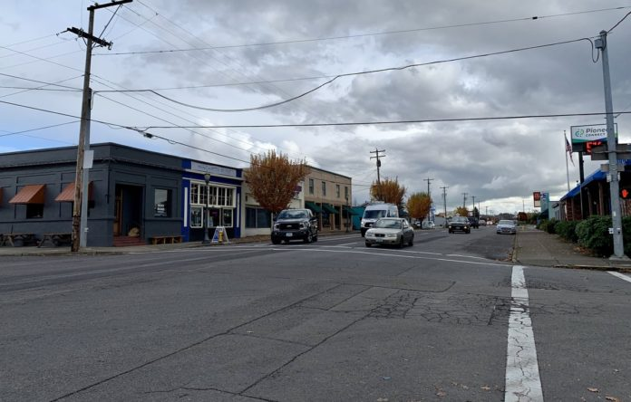 Downtown Philomath