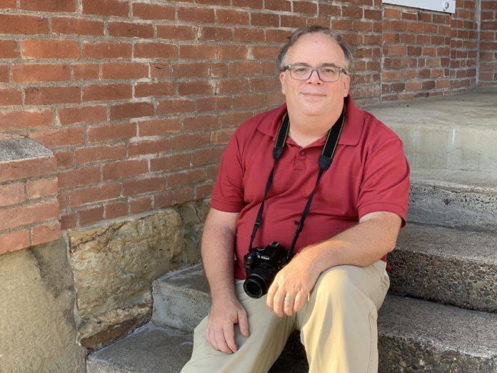 Philomath News publisher Brad Fuqua