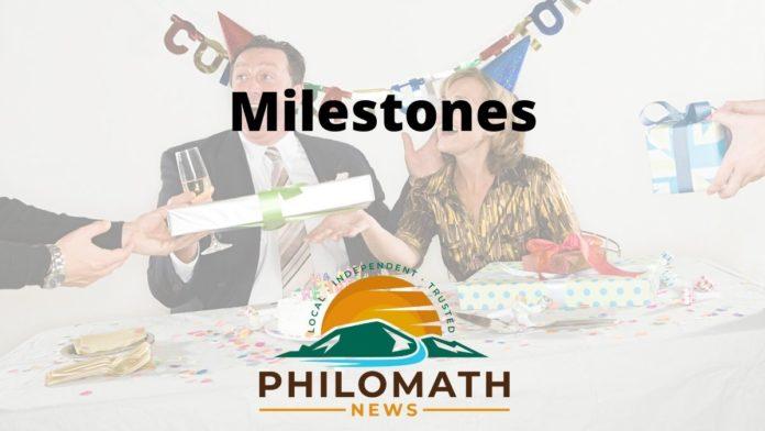 Philomath News Milestones Logo