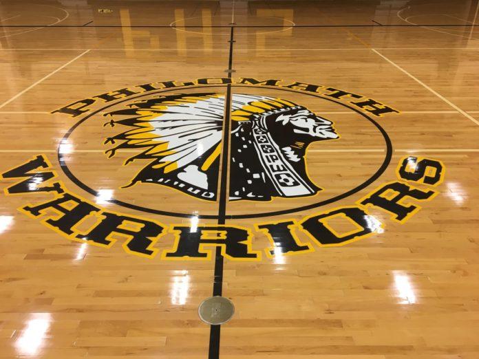 Philomath High School gym logo