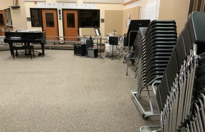 PHS band room