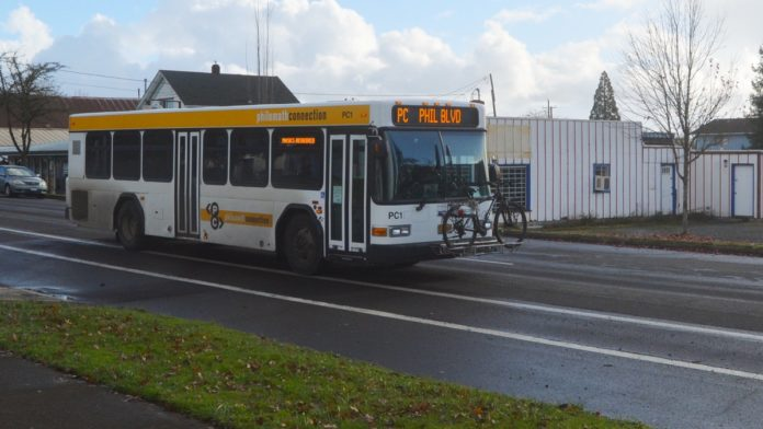 Philomath Connection bus