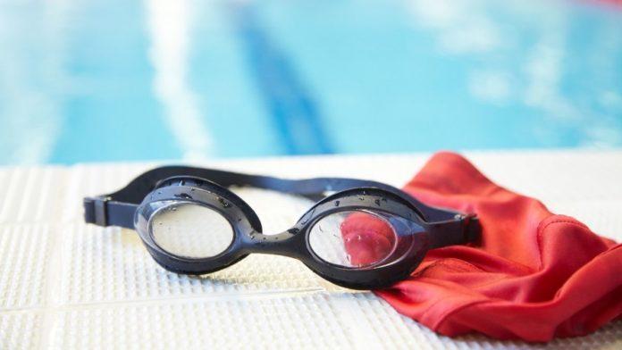 Swimming pool artwork