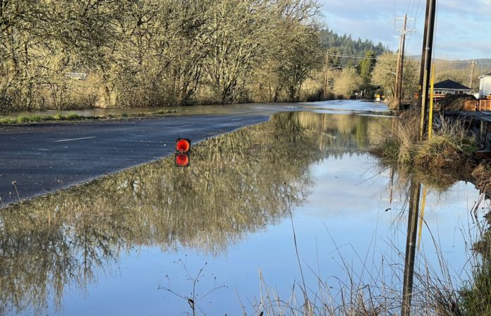 Flooding on Chapel Drive