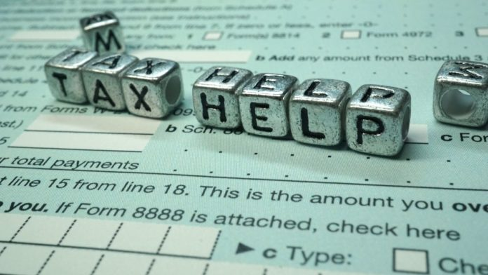 Tax help artwork