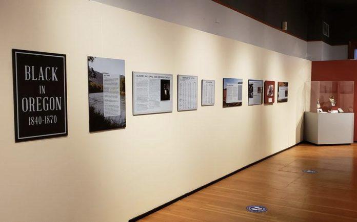 """""""Black in Oregon: 1840-1870"""" exhibition"""