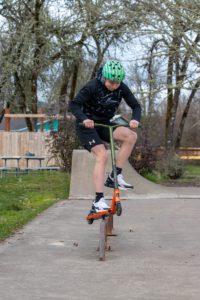 Blake Niemann at skate park