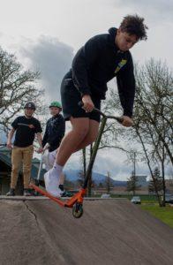 Rocco De La Rosa at skate park