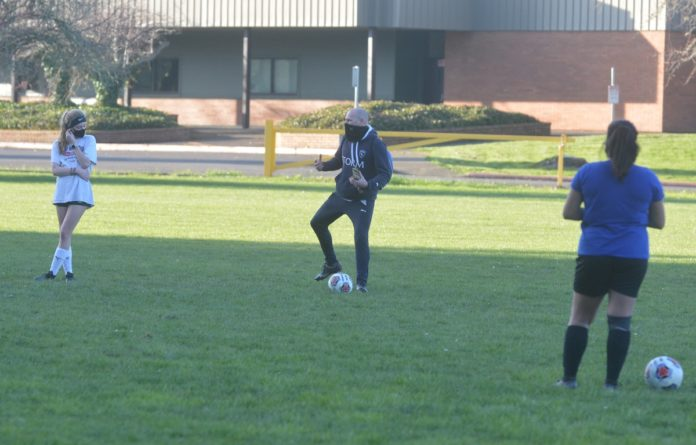 PHS soccer coach Mat Phelps
