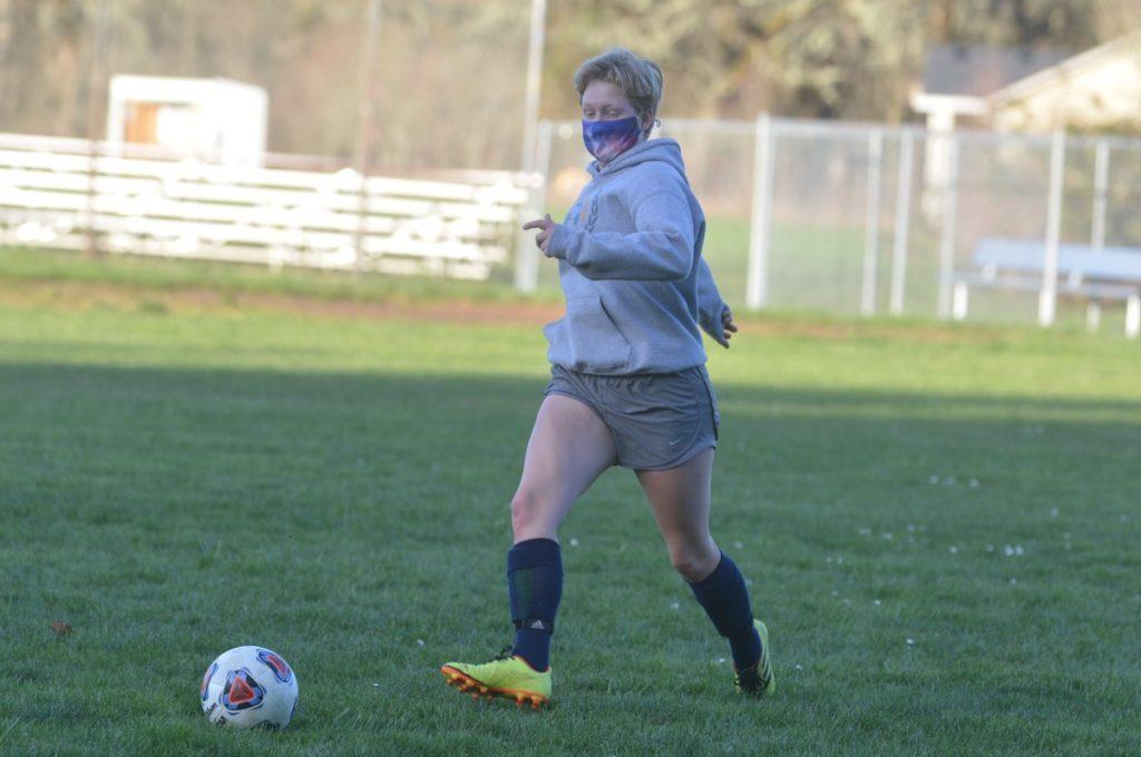 PHS soccer player Reese Grube