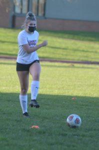 PHS soccer player Mia Rust