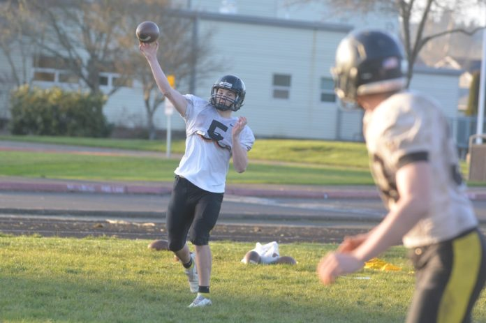 Chase Beardsley throwing