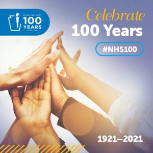 National Honor Society centennial logo