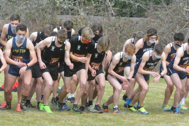 Start to boys' race