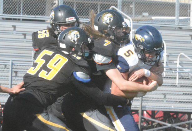 PHS defense on sack