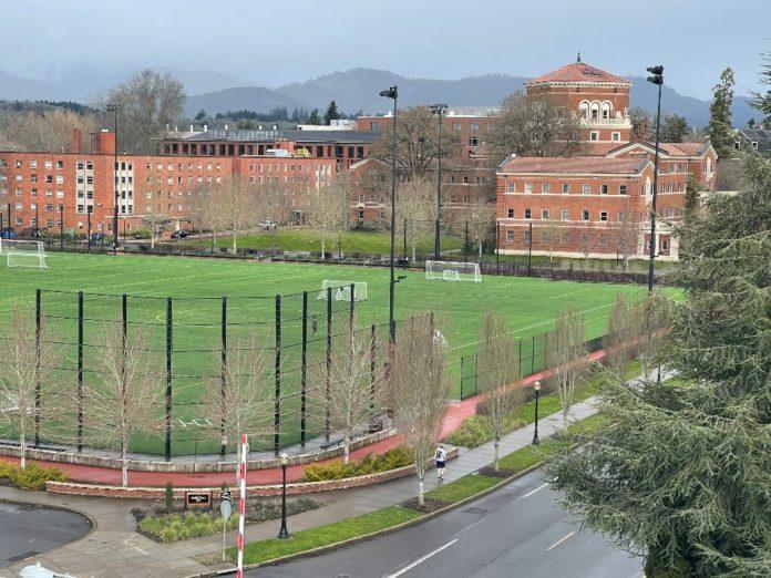 Empty OSU campus