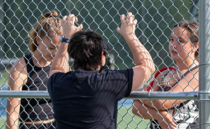 Atira Fairbanks, Chloe Jurva, Coach Bethany Flora