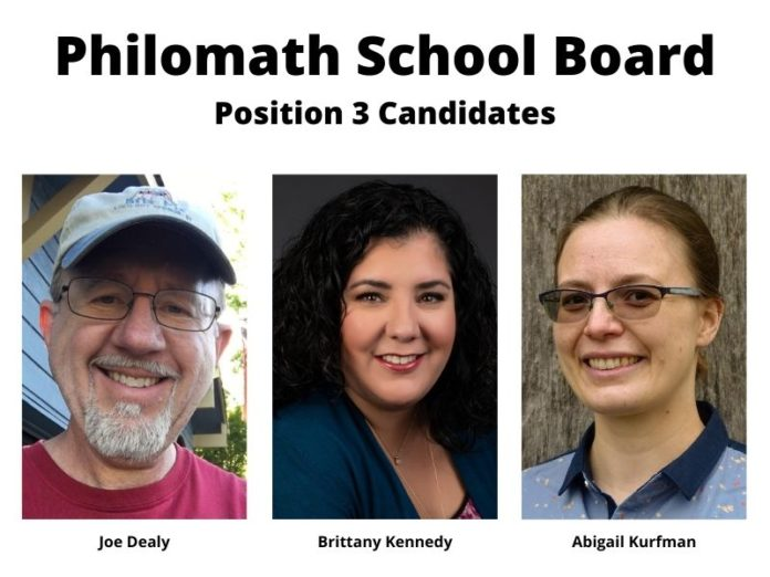 Philomath School Board Position 3 candidates