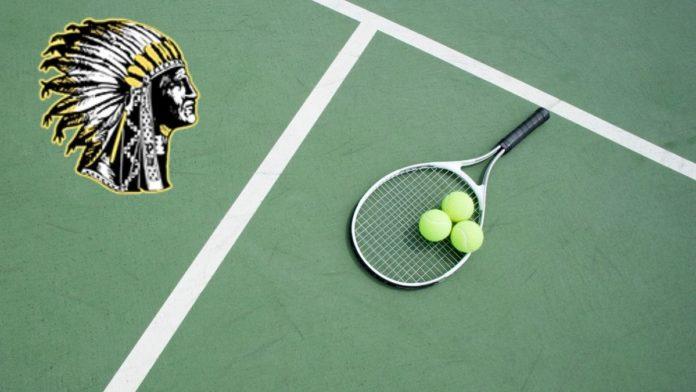 PHS tennis artwork