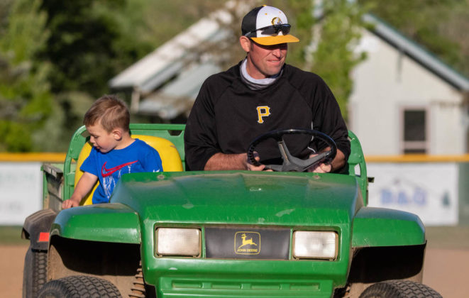 Levi Webber and son