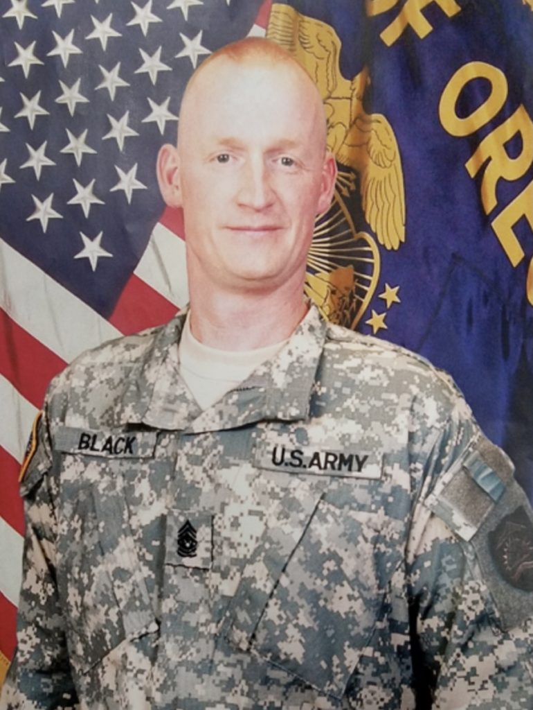 Command Sgt. Maj. Garry Black