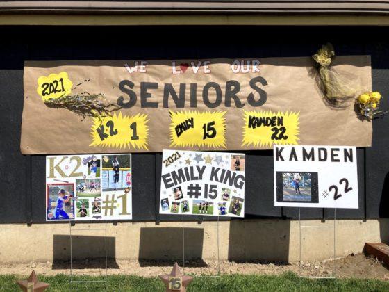 Seniors recognized