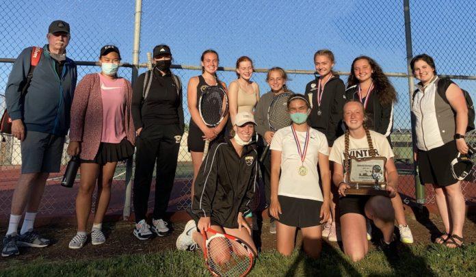 PHS girls tennis team