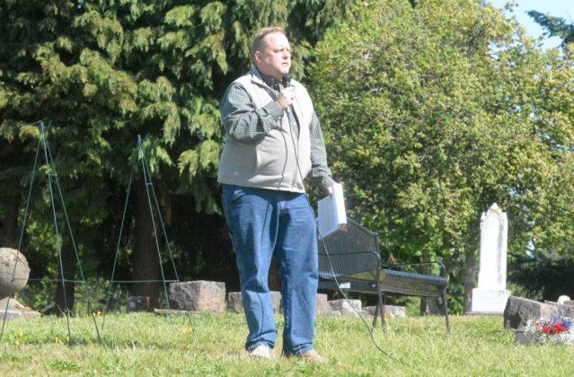 Eric Niemann speaking