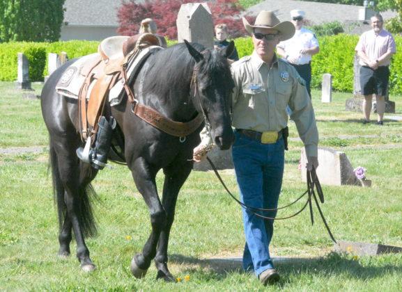 Horseless rider