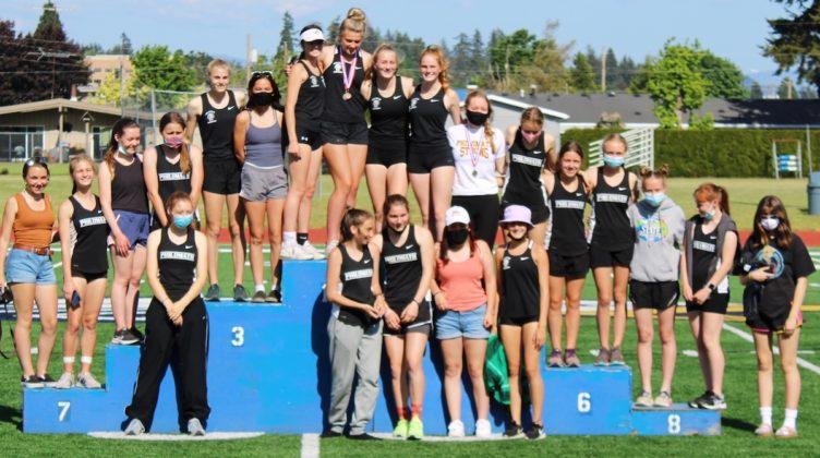 PHS girls take first place