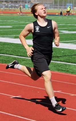 Isaac Workman in 200