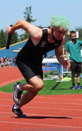 Lucas Ainsworth in 4x100