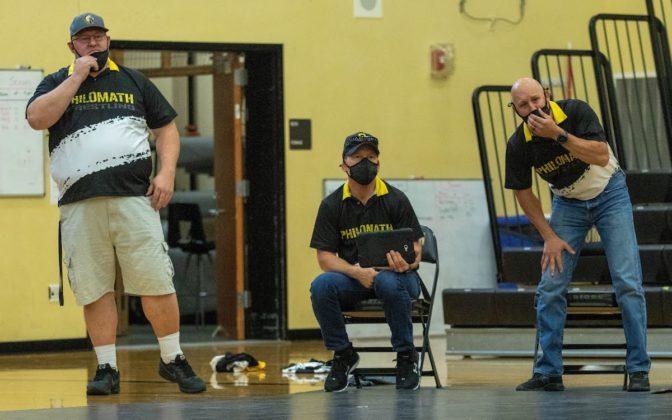 PHS wrestling coaches