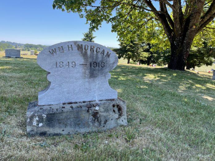 William H. Morgan gravesite