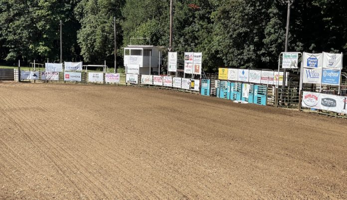 Frolic & Rodeo arena