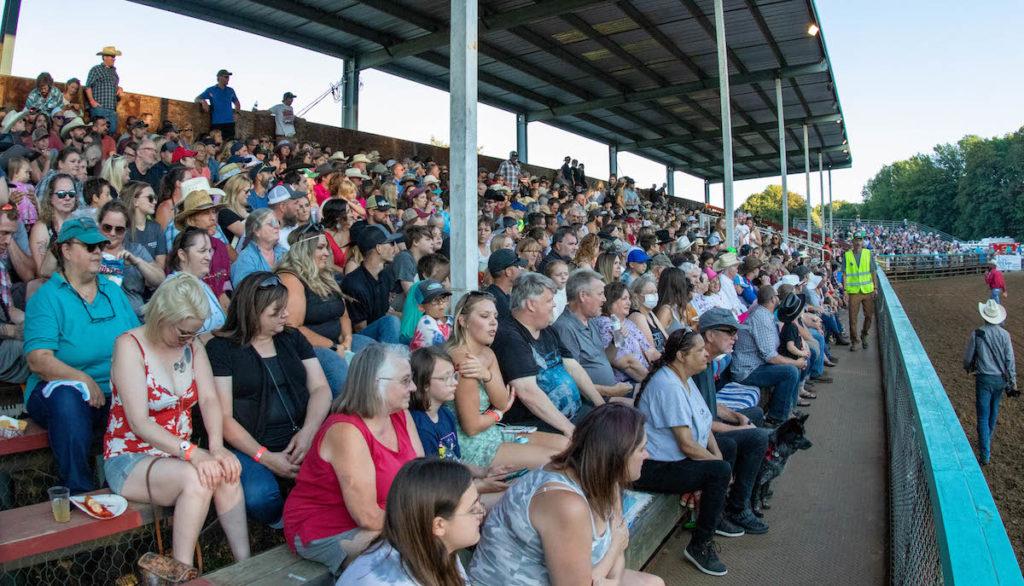 Philomath Frolic & Rodeo fans