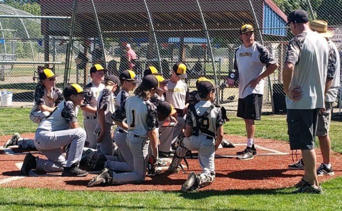 Philomath Junior American baseball team