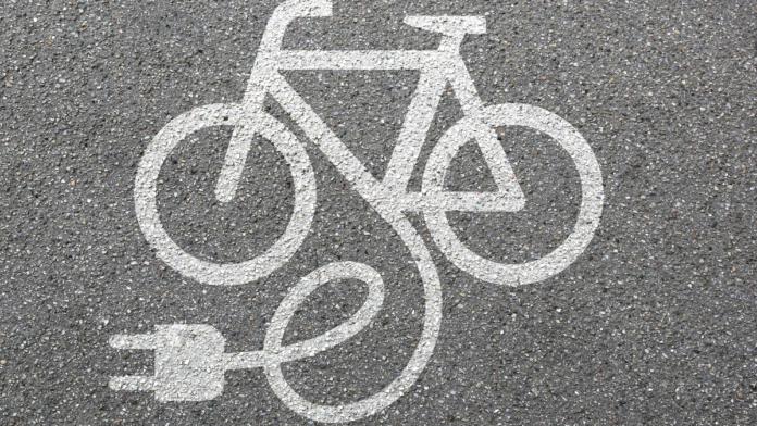 E-bike artwork