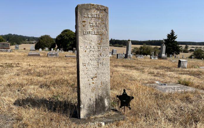 Jacob L. Berry grave site
