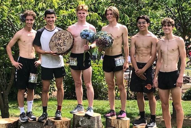 PHS boys cross-country team