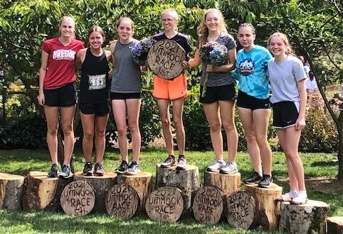 PHS girls cross-country team
