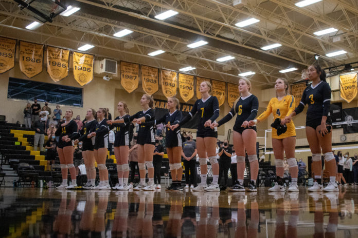 PHS volleyball team