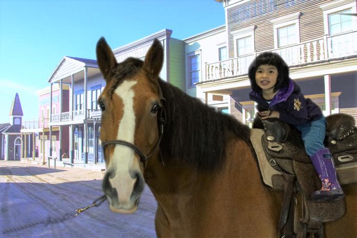 Horseback ride event