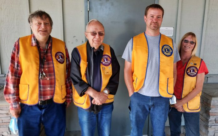 Lions Club officers 2021-22