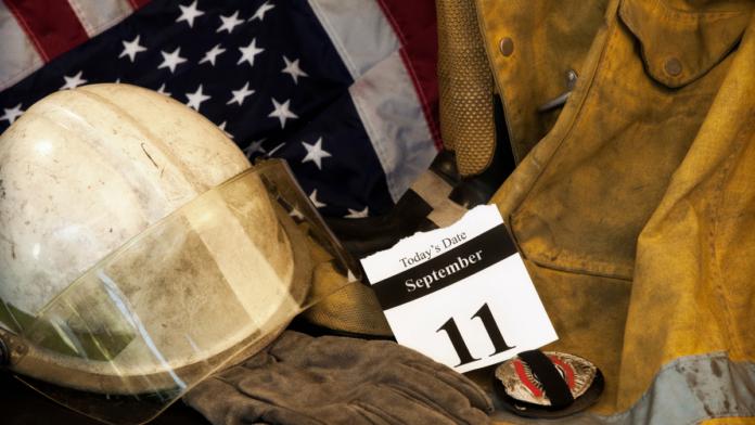 9/11 ceremony artwork